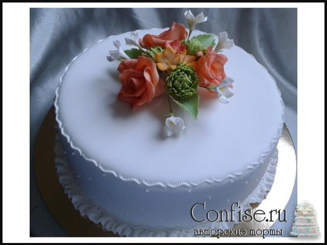 Торт ливерпуль фото 2