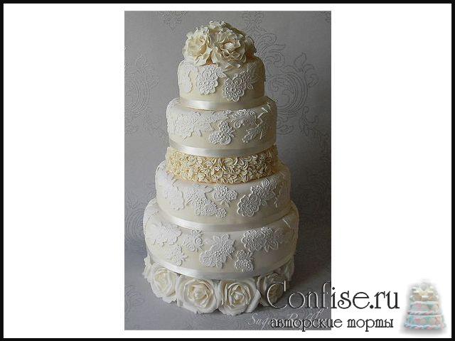 Торты на заказ свадебные фото