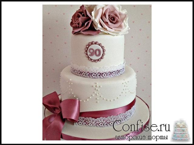 торт для юбилея фото